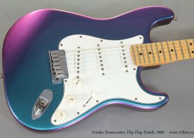 Fender Strat Flipflop Blue 1995 Cons Top